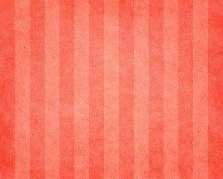 Red striped vintage paper texture. Created from old paper. Stock Photo