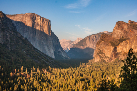 yosemite el capitan sunset view