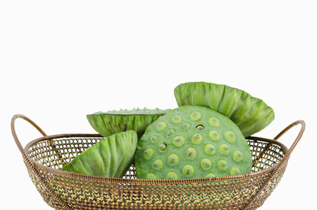 Green lotus seeds lotus nut,lian zi - the Chinese herb that normally used in traditional Chinese medicine.