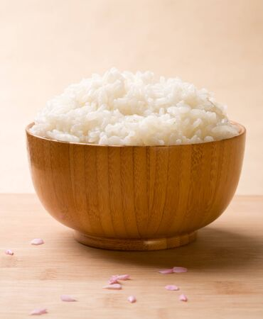 staple food: Fragrant Rice Stock Photo