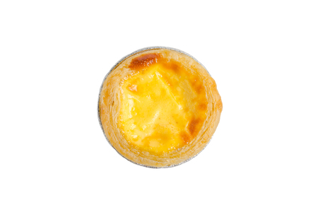 egg tart isolate