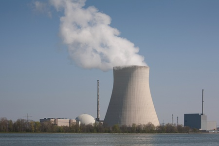 landshut: Isar 2 nuclear plant in Ohu near Landshut