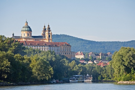 monastery melk Stock Photo