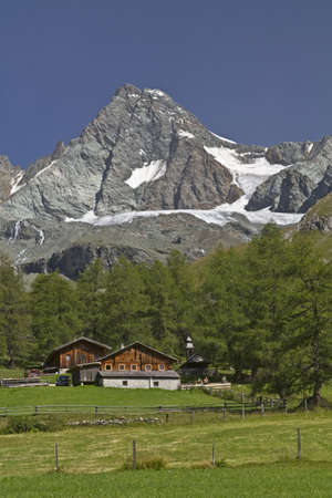 reported: View of the Grossglockner Stock Photo