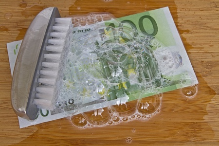 money laundering Standard-Bild