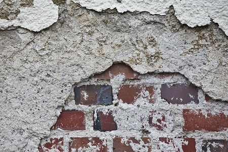 deficiencies: dilapidated wall part