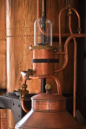Bassano del Grappa - Detail of a distil device