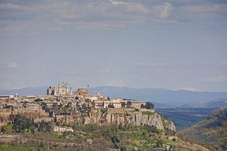 orvieto: Vista de Orvieto