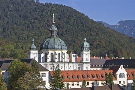 ettal: monastery Ettal Stock Photo