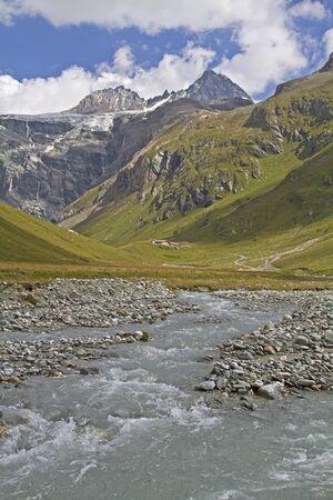 osttirol: View of the Grossglockner Stock Photo