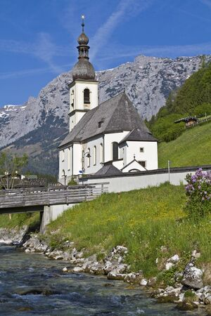 berchtesgaden: Ramsau - popular photo motif in Berchtesgaden Land