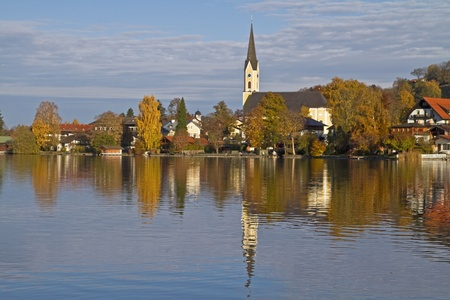 Schliersee - lake in Bavaria Stock Photo