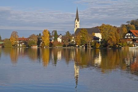Schliersee - lake in Bavaria Reklamní fotografie