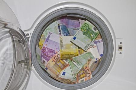 Le blanchiment d'argent Banque d'images - 11474170