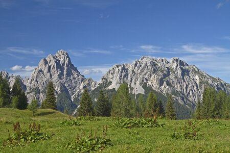 sella: Summit of the Sella di Razzo