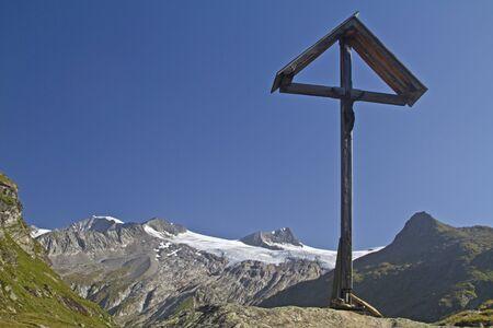summit cross in East Tyrol Stock Photo - 11627165