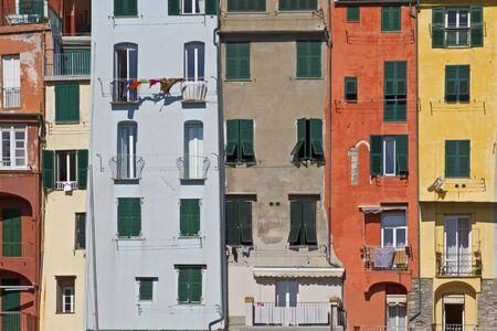 colourful houses in Portovenere