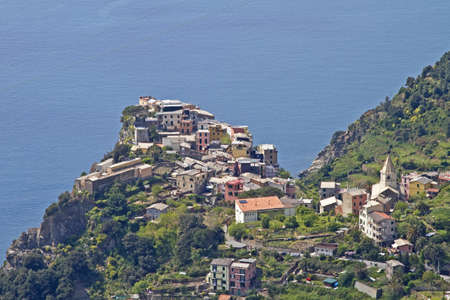 Corniglia - village in Cinque Terre photo