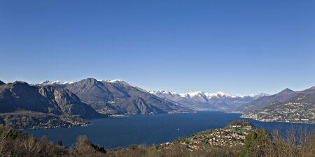 lake como: Bekijk van Bellagio aan het Comomeer