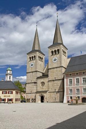 berchtesgaden: The Collegiate Church of St. Peter and St. John the Baptist in Berchtesgaden