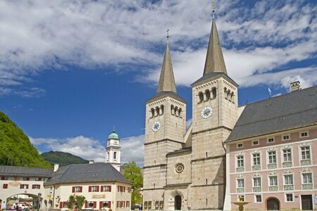 baptist: The Collegiate Church of St. Peter and St. John the Baptist in Berchtesgaden