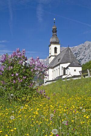 berchtesgaden: Ramsau - popular photo in Berchtesgaden country Stock Photo
