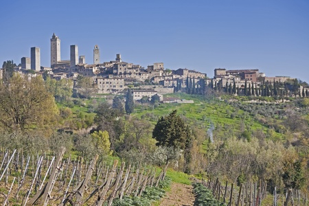 frequented: San Gimignano