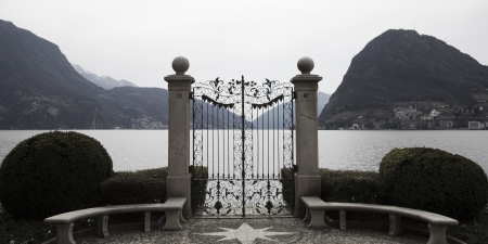 park in Lugano photo