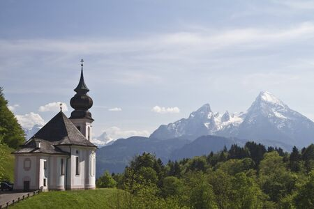 berchtesgaden: Maria Gern  - idyllic sanctuary in Berchtesgaden Land