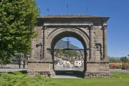aosta:  Arco Romano in Aosta