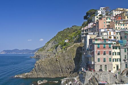 booked: Riomaggiore Stock Photo