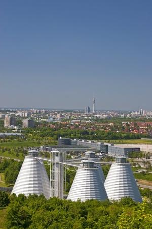 De riolering van de metropool München