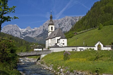 idyll: Ramsau - idyll in Bavaria
