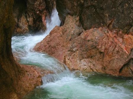 waterfall in Tyrol