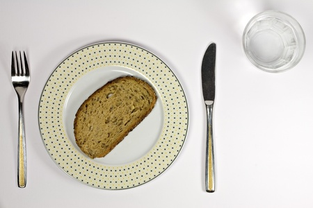 Bread and water photo