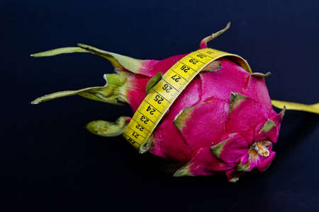 consciously: Pitahaya  with yellow tape measure