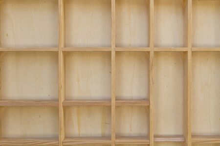Empty wooden hutch Stock Photo - 12874523