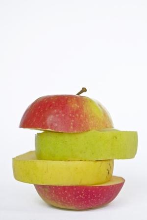 Apple mix of different apple varieties
