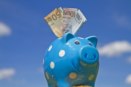 commercialism: Piggy bank Stock Photo