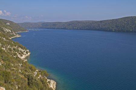 Lim channel in Croatia photo