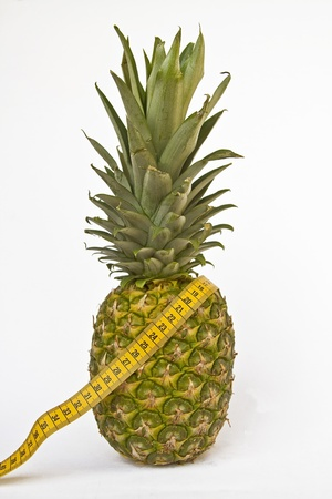 consciously: pineapple diet Stock Photo