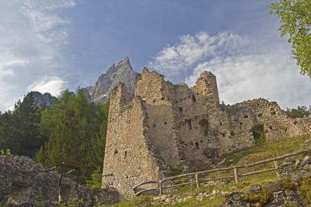 tyrol: ruin Hauenstein  in South Tyrol