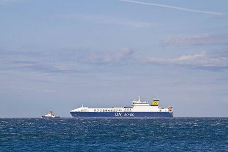 un: Cargo ship Un Pendik Editorial
