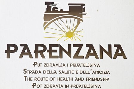 viaducts: sign of Parenzana road