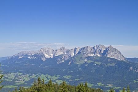 tyrol: Mountains in Tyrol Stock Photo