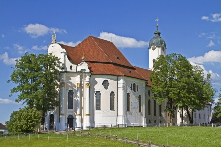 balthasar: Wies Church - Rococo jewel and tourist attraction in southern Bavaria
