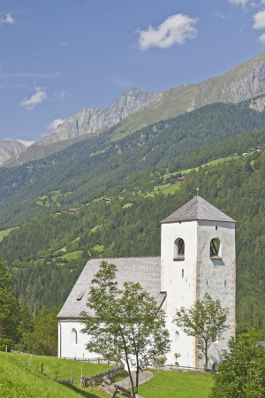 matrei: St  Nicholas - idyllic chapel in East Tyrol Stock Photo