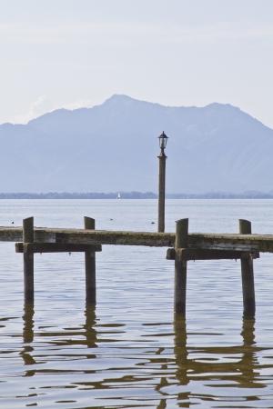perceptive: Molo di legno al Chiemsee