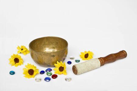 Important meditation utensils Stock Photo - 15475752