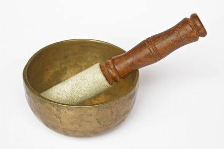 Singing Bowl Stock Photo - 15703169
